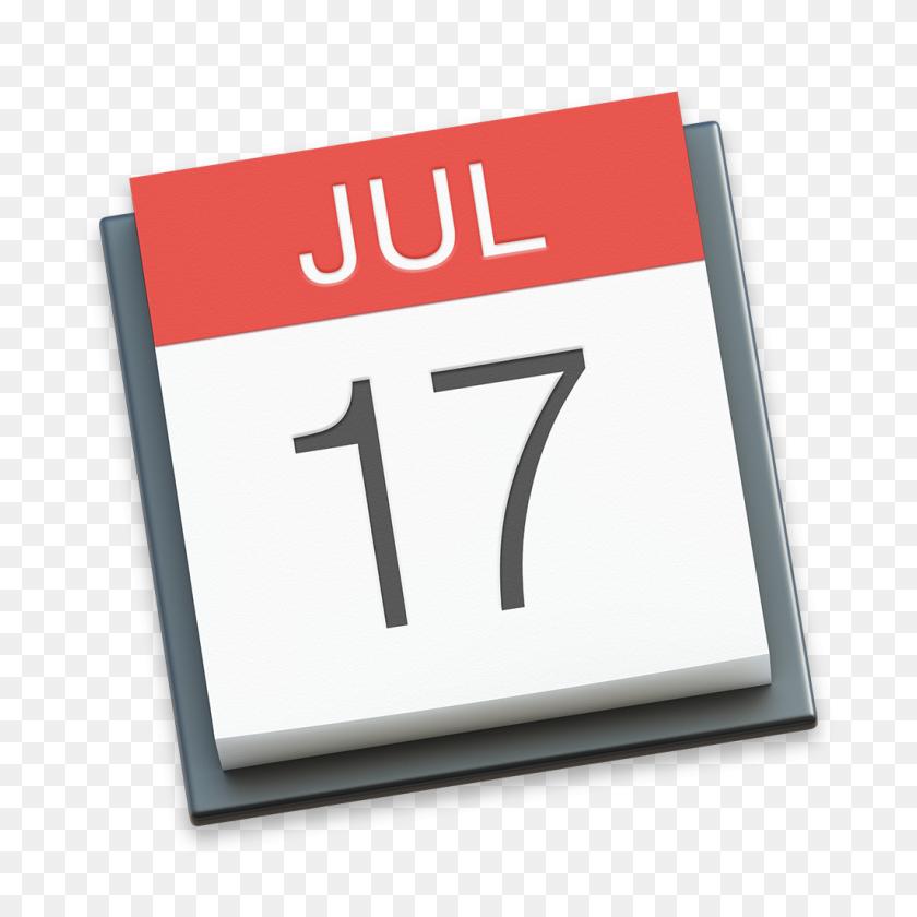 Calendar Icon Os X Yosemite Preview Iconset Johanchalibert - Mac PNG