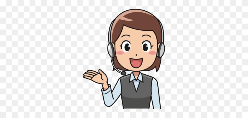 Call Centre Callcenteragent Customer Service Cartoon Free - Customer Service Clipart