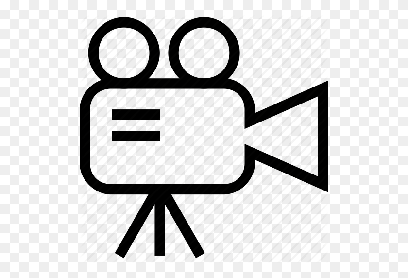 Camcorder, Video, Videocam, Videocamera Icon - Video Camera Icon PNG