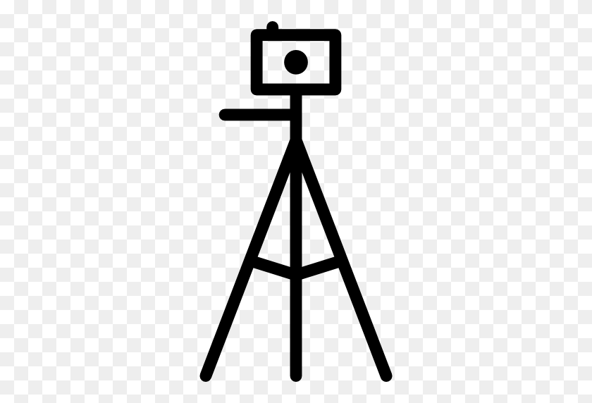 Camera Tripod - Tripod Clipart