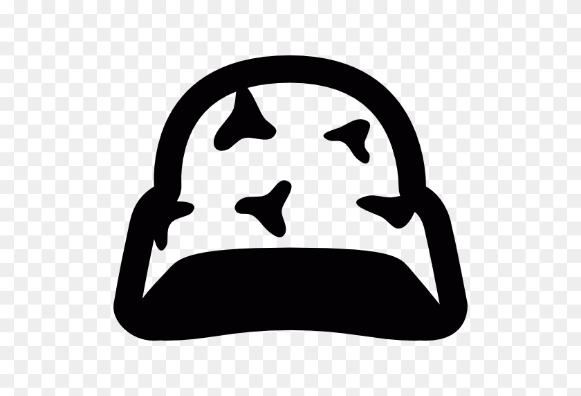 Camouflage Helmet - Camouflage PNG