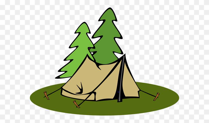 Camp Raintree Campout - Montessori Clipart