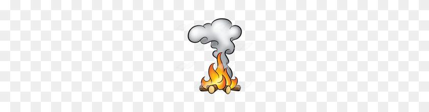 Campfire Clipart Campfire Smoke - Campfire Clipart Free