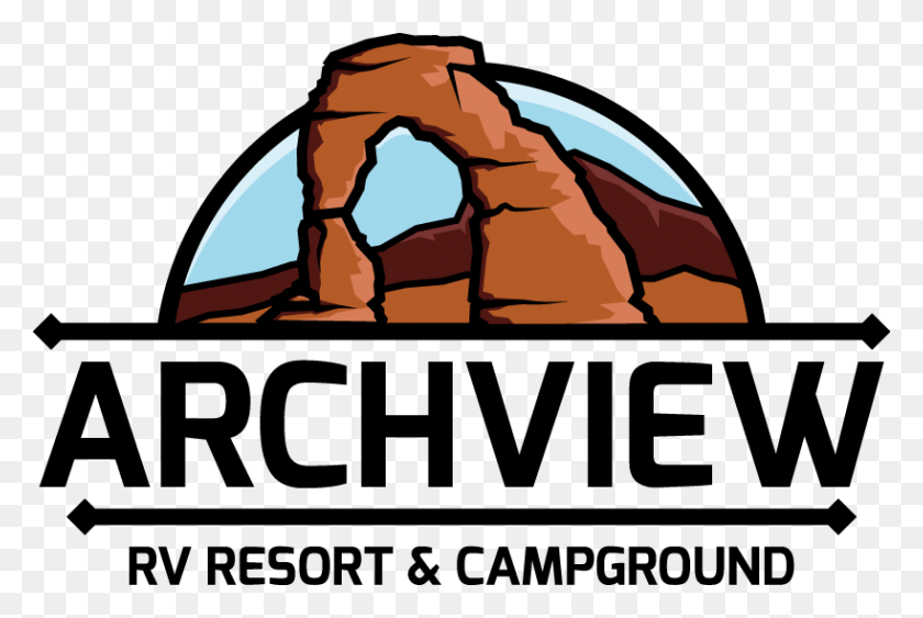 Camping Near Arches National Park Archview Rv Resort Sun Rv - Rv Camping Clipart