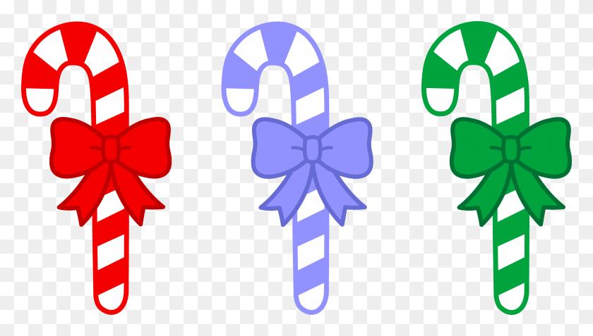 Candy Cane Border Clip Art - Christmas Page Border Clip Art