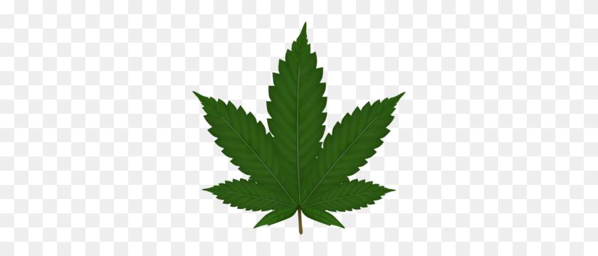 Cannabis Leaf Clip Art - Weed Leaf Clipart