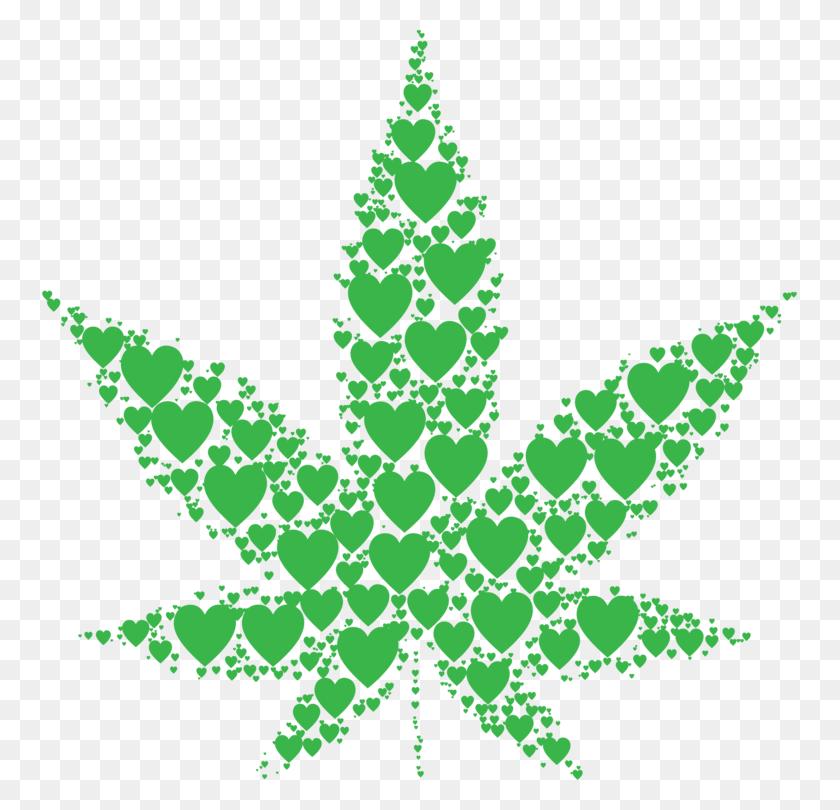 Cannabis Tea Leaf Drug Legalization - Weed Leaf Clipart