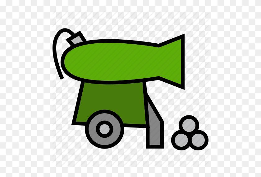 Cannon, Grub, Gun, Pirate, Raider, Rover, Weapon Icon - Pirate Cannon Clipart
