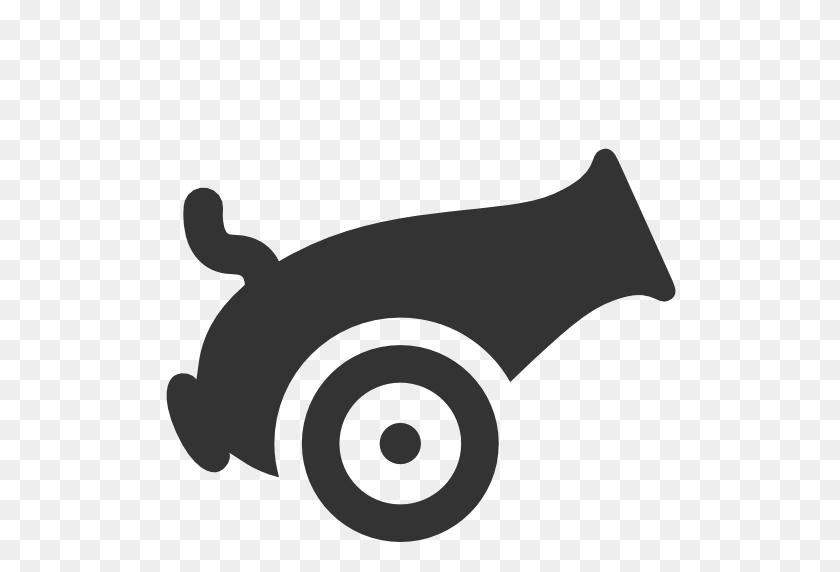 Cannon Icon - Pirate Cannon Clipart