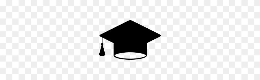 Cap - Graduation Cap Vector PNG