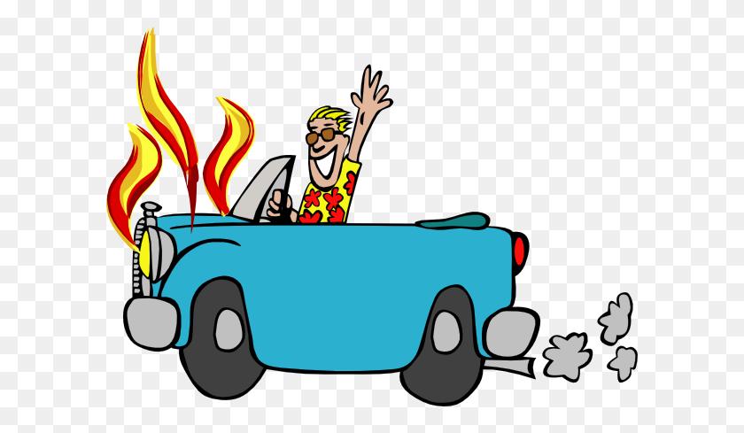 Car Fire Clipart - Fire Truck Clipart