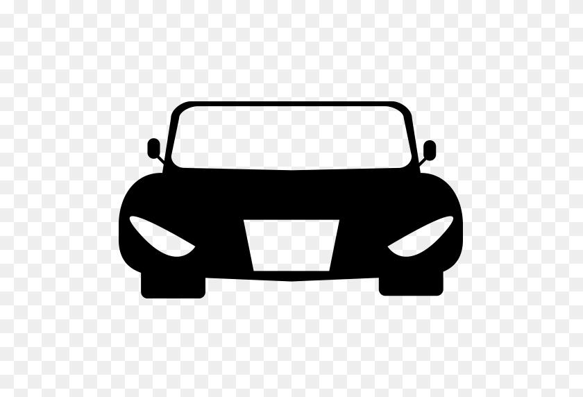 512x512 Car Icon - Black Car PNG