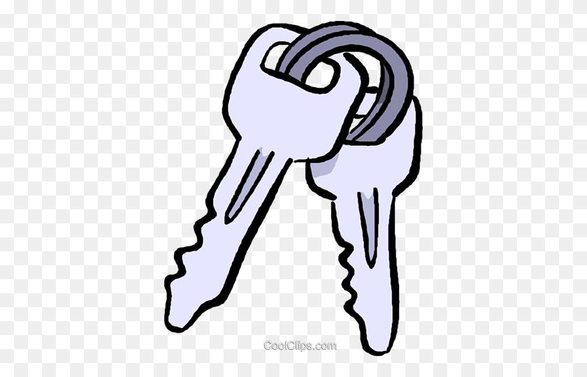 Car Keys Royalty Free Vector Clip Art Illustration - Car Key PNG