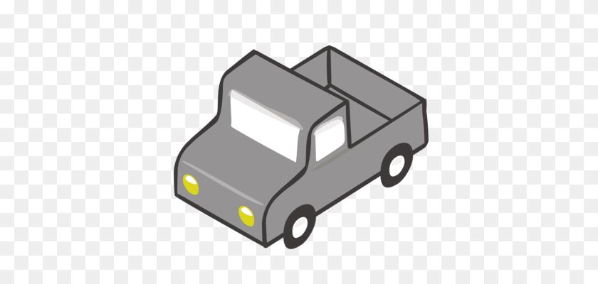 Car Pickup Truck Semi Trailer Truck Flatbed Truck - Flatbed Truck Clipart