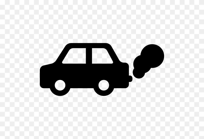Car Pollution - Car Silhouette PNG