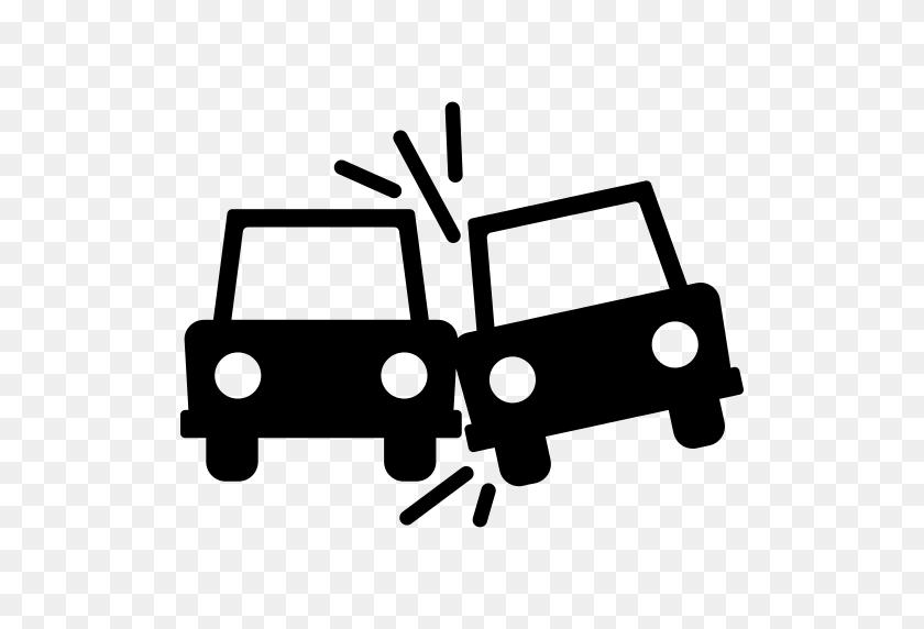 Car Run Over Man Png Icon - Car Crash PNG