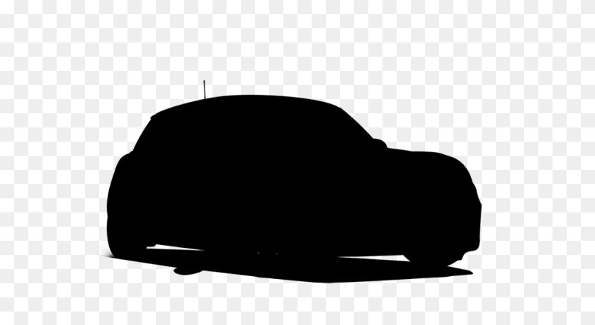 956x490 Car Silhouette Transparent Png Pictures - Black Car PNG