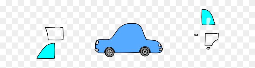Car Simple Blue Clip Art - Simple Car Clipart