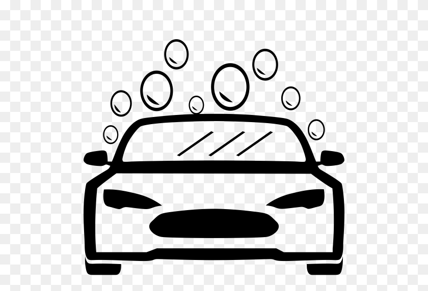 Car Wash Simplified Edition, Car Wash, Car Wash Service Icon - Washing Car Clipart