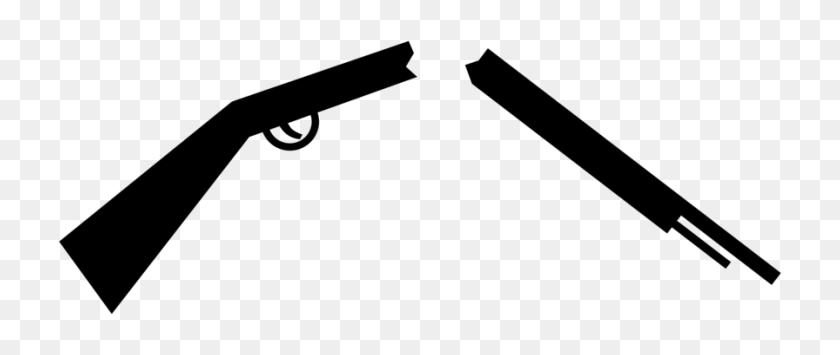 896x340 Carbine Firearm Weapon Rifle - M4 Clipart