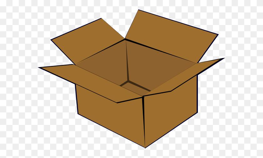 Cardboard Box Clip Art Free Vector - Cardboard Box Clipart