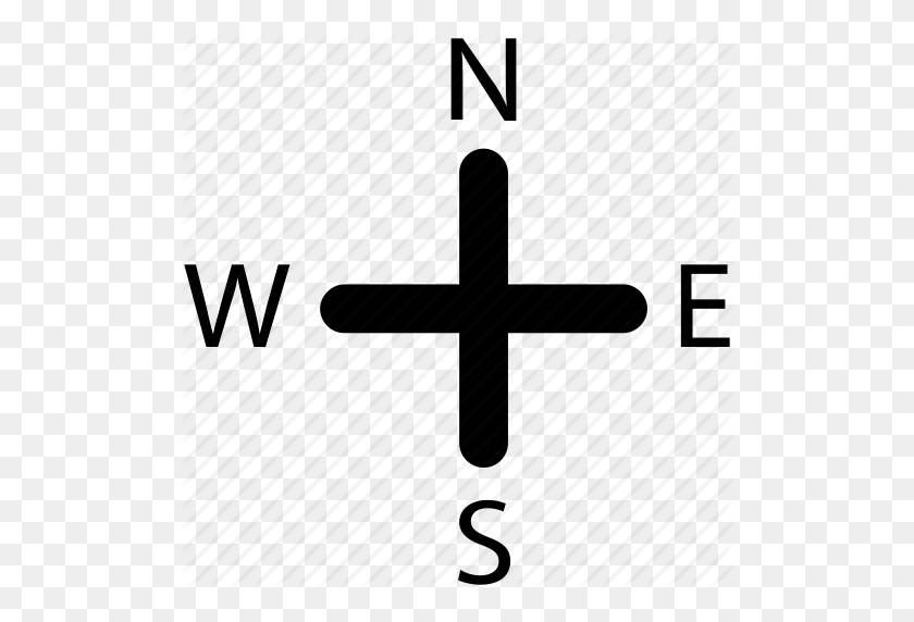 Cardinal Points, Compass, Compass Rose, Gps, Navigation, Rose - Compass Rose PNG