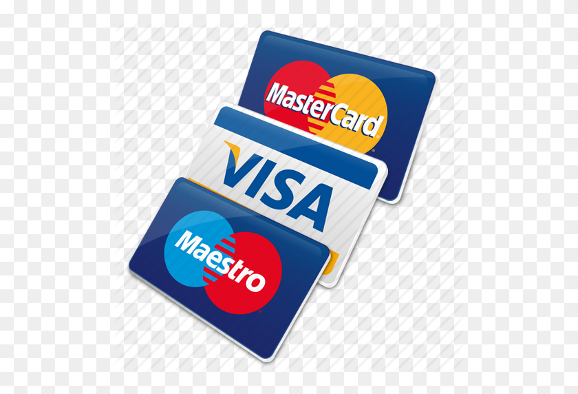 Cards, Credit Cards, Maestro Card, Master Card, Visa, Visa Card Icon - Credit Card Icon PNG