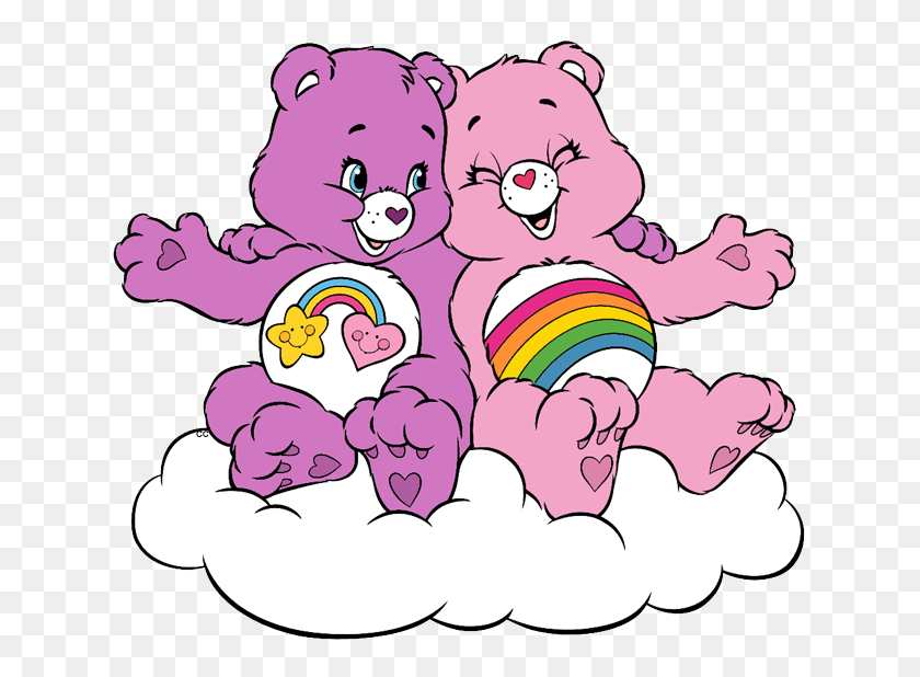 Care Bears And Cousins Clip Art Cartoon Clip Art - Racoon Clipart