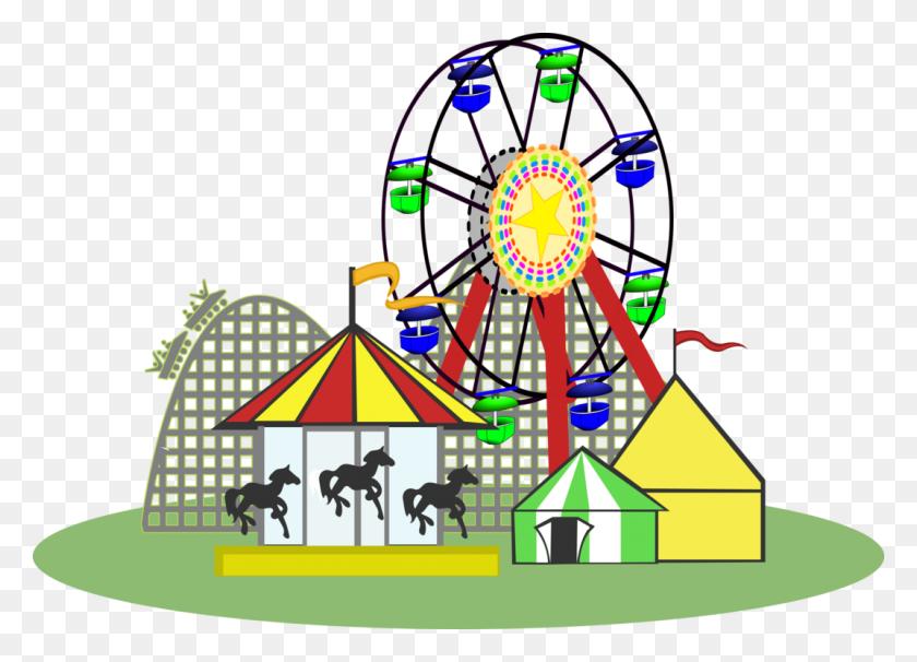 Carousel Gardens Amusement Park Urban Park Family Kingdom - Park Clipart