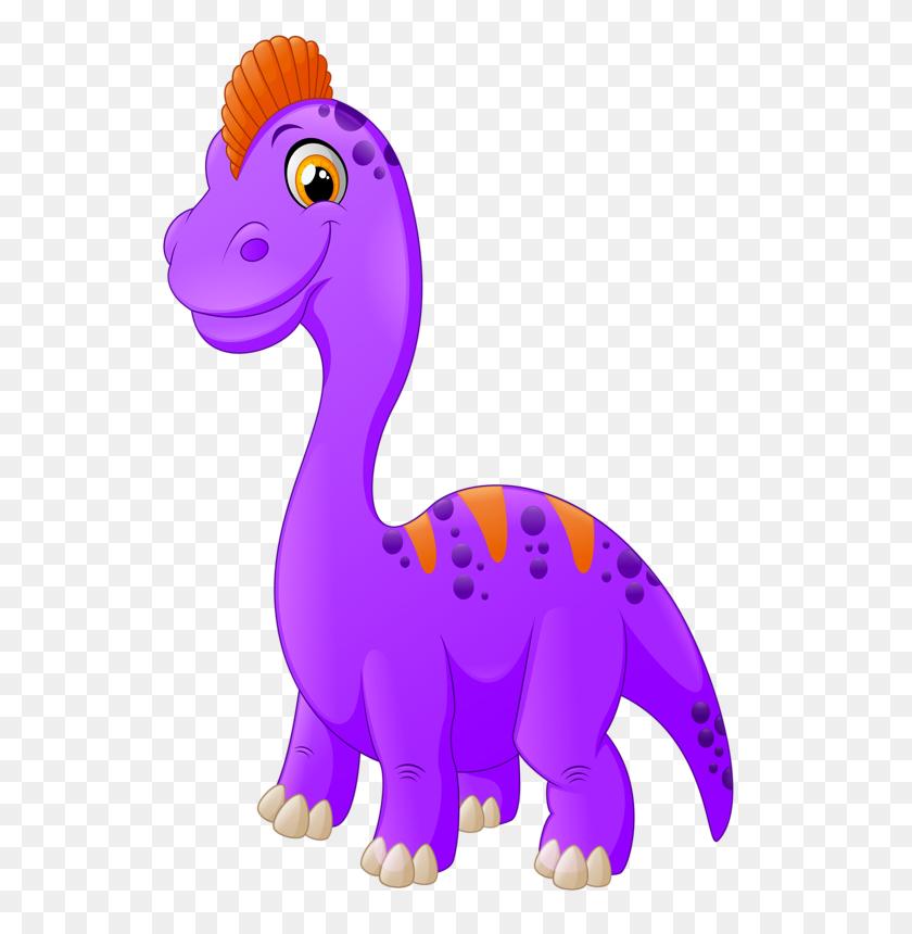 Cartoon Animals And Children Vector - Cartoon Dinosaur Clipart