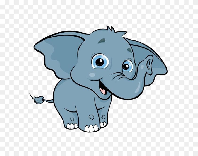 Cartoon Baby Elephant Images - Mom And Baby Elephant Clipart