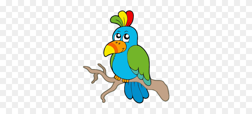 320x320 Cartoon Bird Clip Art - Cute Bird Clipart