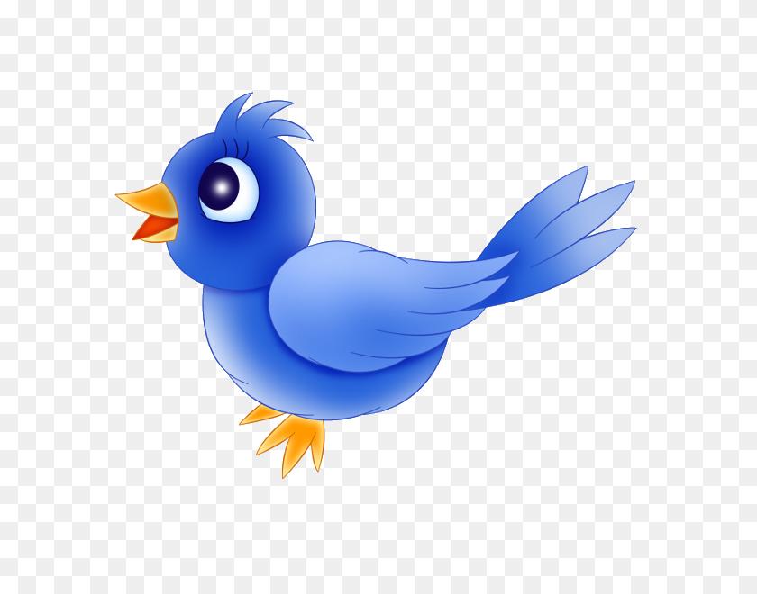 Cartoon Blue Bird Clipart - Blue Bird Clipart