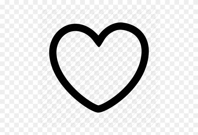 Cartoon, Cartoon Game, Game Ui, Heart, Outline Icon - Cartoon Heart PNG