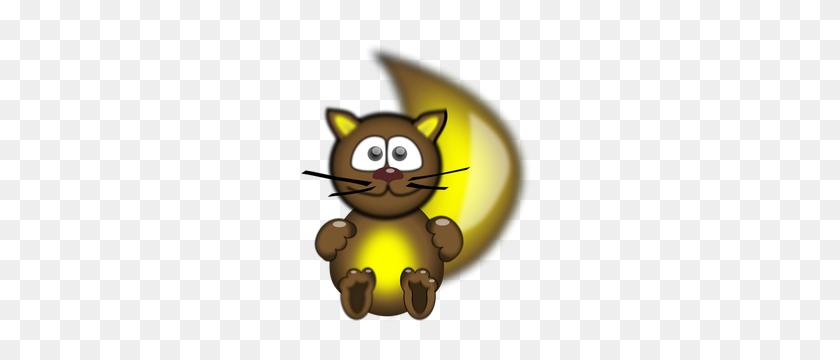 Cartoon Cat Face Eyes Clip Art - Funny Cat Clipart