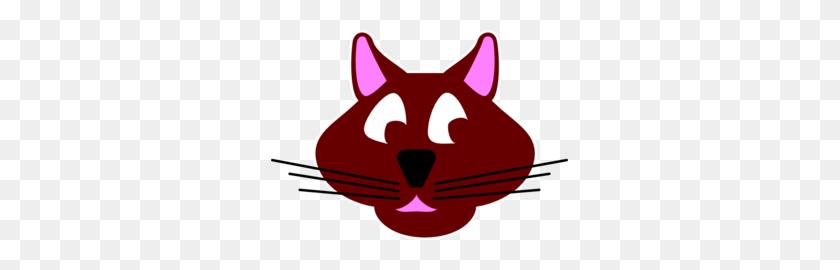 Cartoon Cat Face Png, Clip Art For Web - Black Cat Face Clipart