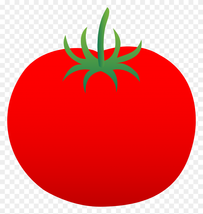 Cartoon Clipart Tomato - Fruits And Vegetables PNG