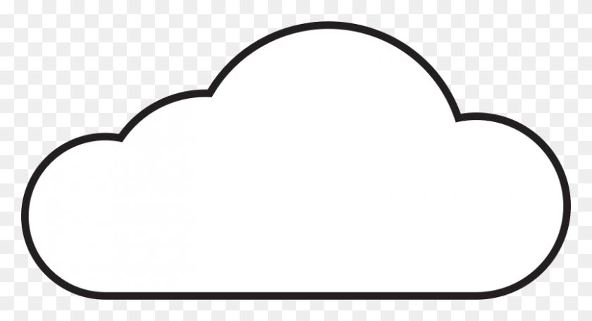 Cartoon Cloud Clipart Collection - Cartoon Cloud PNG