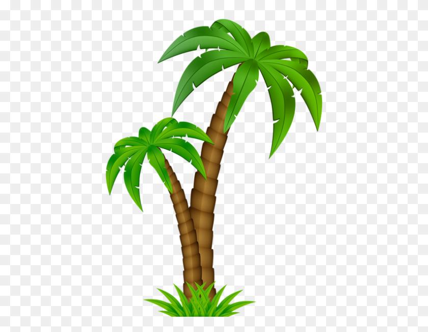 Cartoon Coconut Tree Clip Art - Coconut Tree Clipart