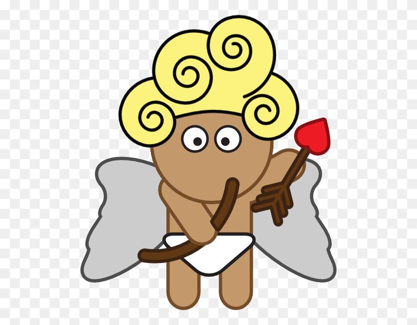 Cartoon Cupid With Bow And Arrow Clip Art - Cupid Clipart