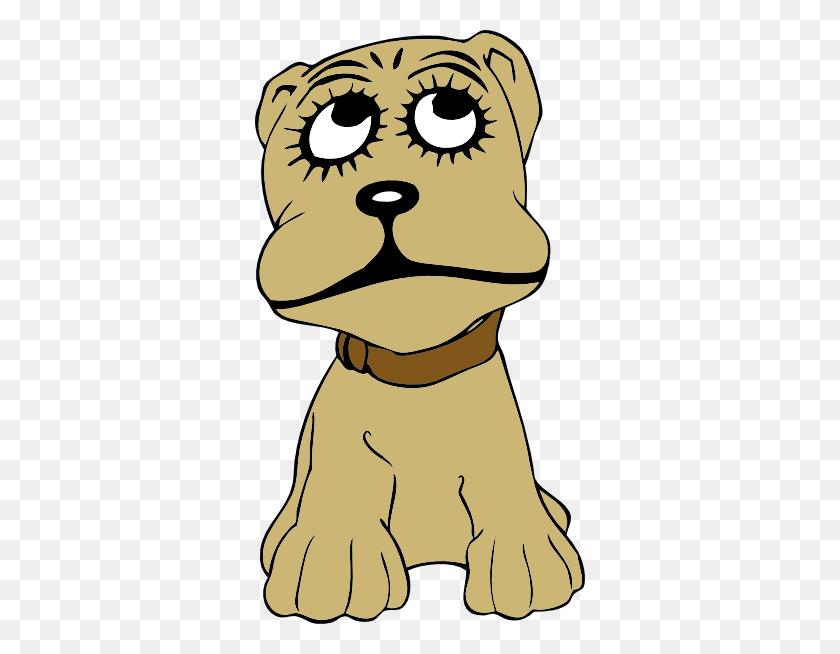 330x594 Cartoon Dog Clip Art - Sad Dog Clipart