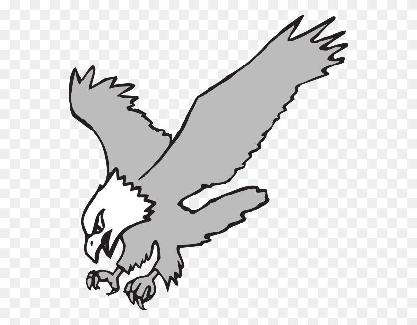 Cartoon Eagles Clip Art - White Bird Clipart