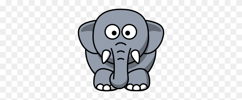 300x286 Cartoon Elephant Clip Art - Mountain Lion Clipart