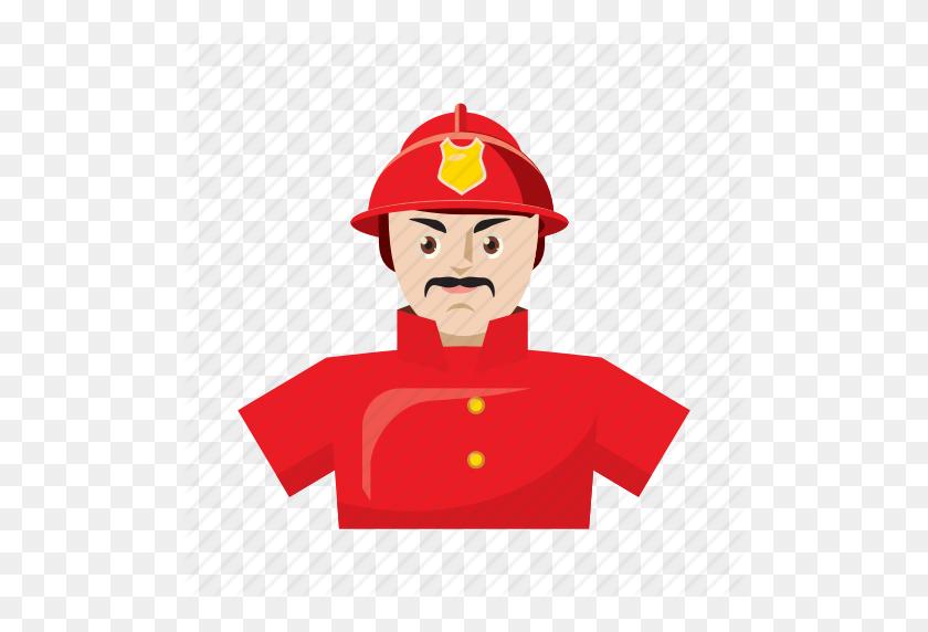 Cartoon, Emergency, Firefighter, Helmet, Rescue, Safety, Uniform Icon - Firefighter Helmet Clipart