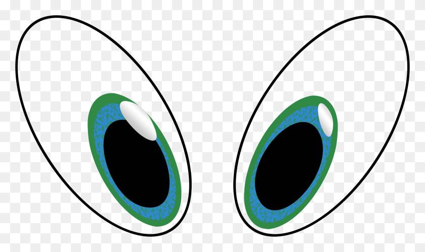 Cartoon Eyes Clip Art Winging - Eyes Looking Clipart