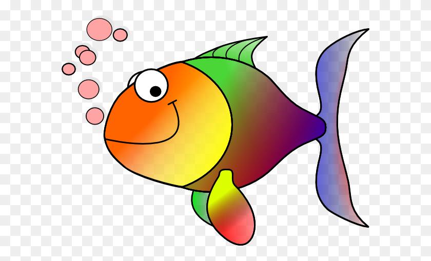 Cartoon Fish Clip Art - No Fighting Clipart