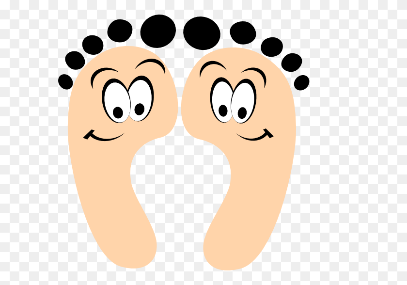 Cartoon Foot Clipart Image - Football Cartoon Clipart