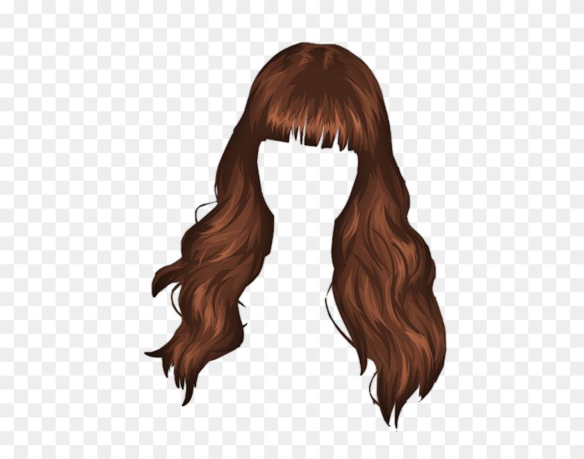 Cartoon Girl Hair Png - Mens Hair PNG