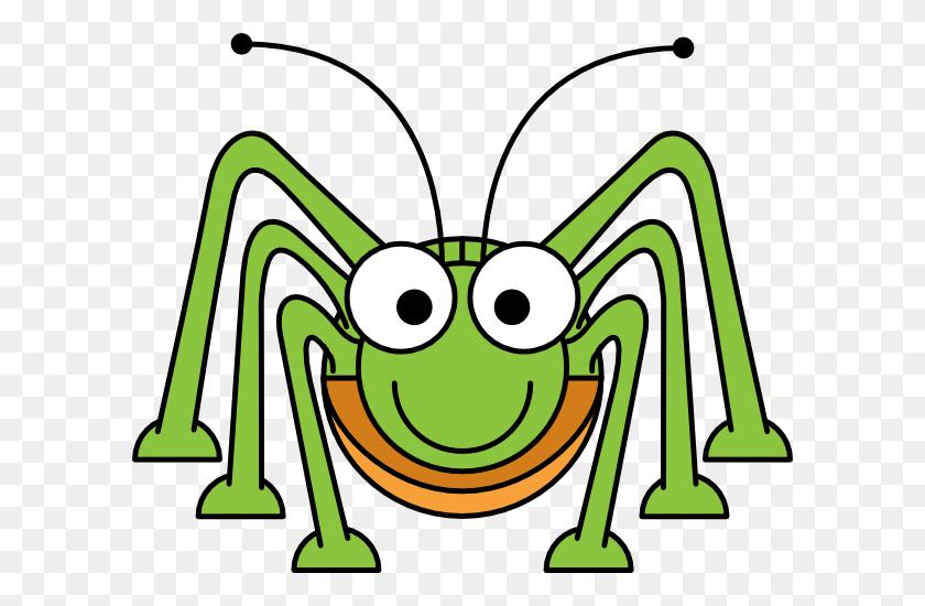 Cartoon Grasshopper Clip Art - Grasshopper Clipart