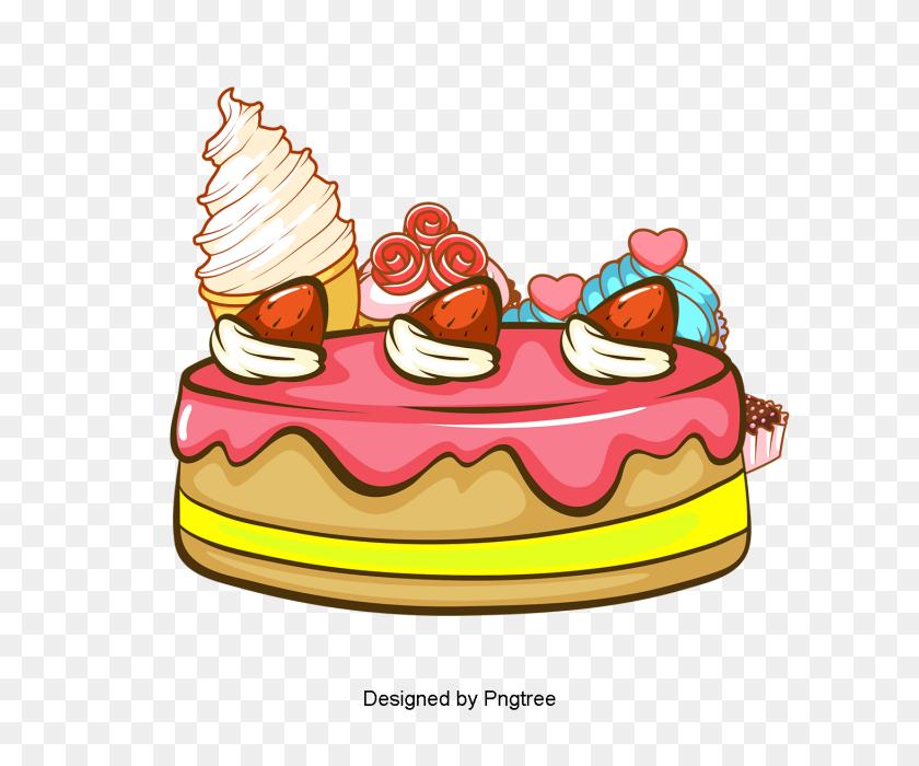Cartoon Hand Painted Dessert Food, Dessert, Gourmet, Chocolate Png - Chocolate PNG